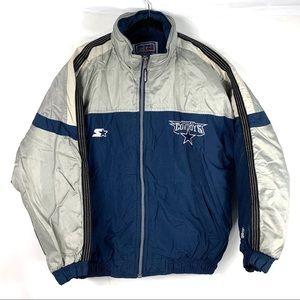 Dallas Cowboys Vtg Starter Pro Line Puffer Jacket